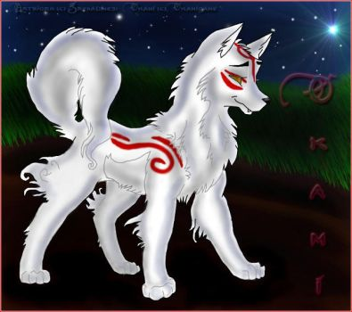 Baby Okami by Grenadine31