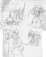 vacation Katie sketches by SpaceCrater