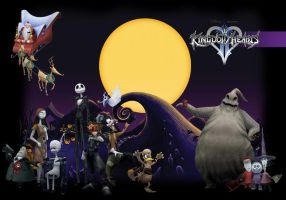 Kingdom Hearts - HolloweenTown by JohnRiddle20