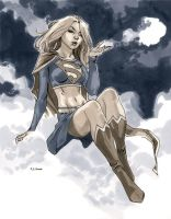 NYCC 2011 Supergirl by MahmudAsrar