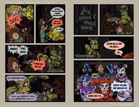 FNAF4 Comic - House Party - Page 61 - 3-30-17 by Mattartist25