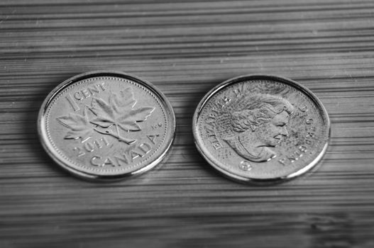 Canadian 1 cent coin rememberence by chirilas