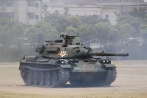 Type 74  Main battle tank by DDmurasame