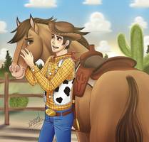 trade3 - Woody and Bullseye by Killer-Chan