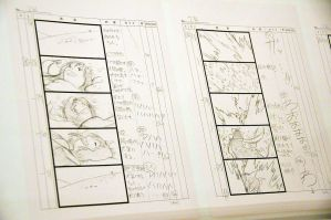 Wolf Children storyboards by trendylina1994