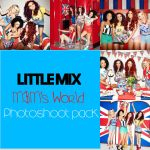 Little Mix HQ MandM's world Photoshoot Pack by LouiseAndMacky