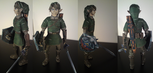 Twilight Princess Paper Link by YMGxo