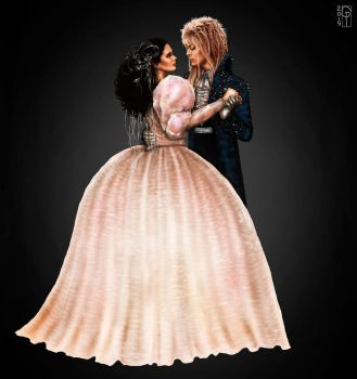Ball- Jareth and Sarah by Gabriella92