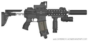 Special Forces M4 CCR by lilgamerboy14