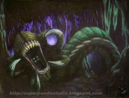 Cave Wurm by Paraloopable