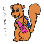Muppet OC: Chippers the Squirrel by AnimatedC9000
