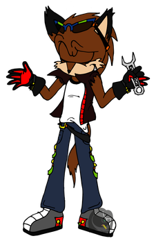 CP: Dash the Chacal by Drawing-Demon22