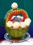 Watermelon Carving - Easter Basket by jolabrodnica