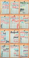2011 Bible Verse Calendar 2 by lizzAy