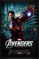 The Avengers: Iron Man | Theatrical Poster by Squiddytron