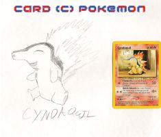 CYNDAQUIL by impostergir007