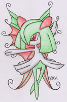 Old Pokemon, New Type 15: Kirlia by Shabou