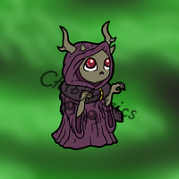 Disney Villains - Horned King by ChibiMagics