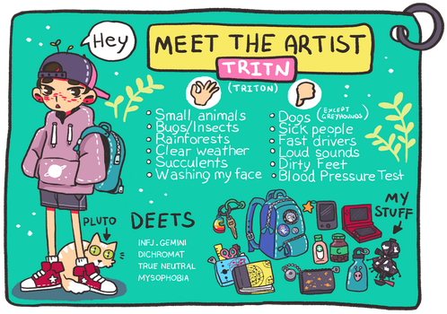 Meet the artist thingo by tritn