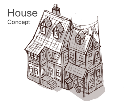 House Concept by Sun-Dragoness