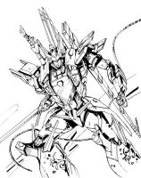 SG Elita-1--drawing by marble-v