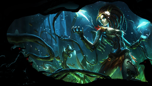 Haunted Zyra Wall by Calciumo
