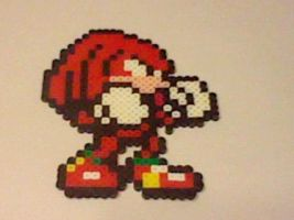 Small Knuckles Perler by Perler-Pop