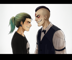 Eddie and Monday by NoahAsai
