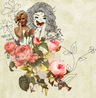Marilyn. by Chrissi-Rockz