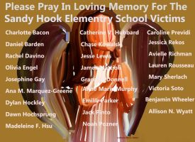 In Memory Of Sandy Hook Elementry School Victims by youlittlemonkey