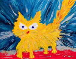 Angry Cat by pinguino