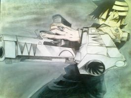 Death The Kid Drawing by frost1993