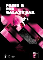 Press R for Galaxy Bar_poster by PoorDesigners