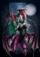 Morrigan by Crayola-madness