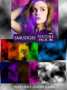 Texture Pack 6 - Smudges by feathers-andflames