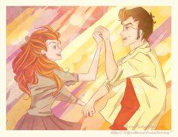 Dance of Happiness by LilyRedHaired
