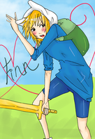 .: Finn: Human Adventurer :. by capochi