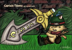 Captain Teemo - League of Legends by Valilolette