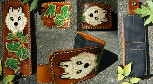 Alvaro wallet commission -IMPROVED- Wolf and Ivy by cloudstar-wolf