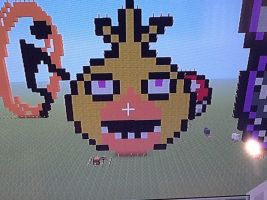 Minecraft Chica by Miss-Mangle