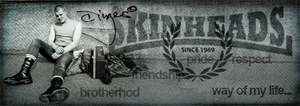 skinhead signature by cinges
