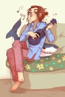 Fred, my uke and me by Malinav