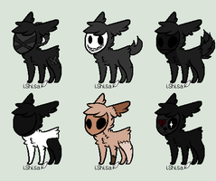 Skull Adoptables-Free Batch-3-Open by xxXxPhenomenonxXxx
