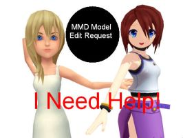 MMD Model Request - A little help plz...? by Kairiaelitascodex