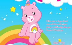 Carebears card by pattymouse