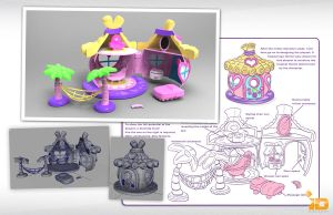3D My Little Pony House Concept by Baron-Von-Jello