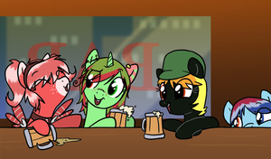 Drinking Request by professor-ponyarity