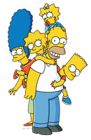 los simpsons png 3 by florchu1