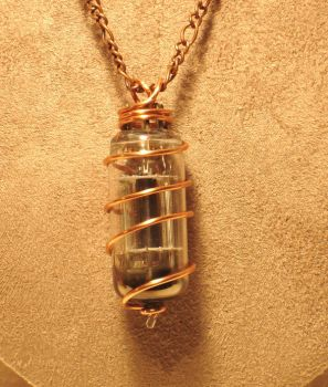 Vacuum Tube Necklace by cjgrand