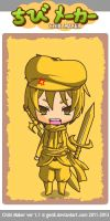 Stephano In Chibi by drakedarkness